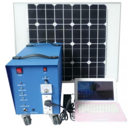 Home Solar Sistem 120Watt - Paket Listrik Tenaga Surya